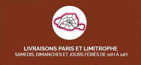 Livraisons Paris et limitrophe
